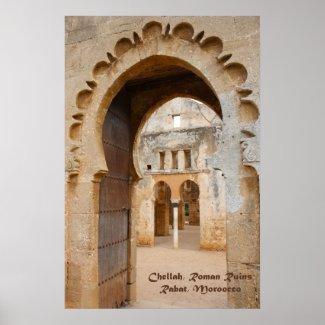 Chellah Ancient Ruins, Morocco