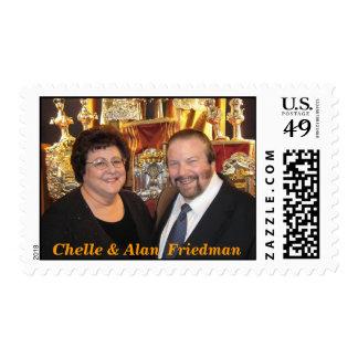 Chelle & Alan  Friedman Postage