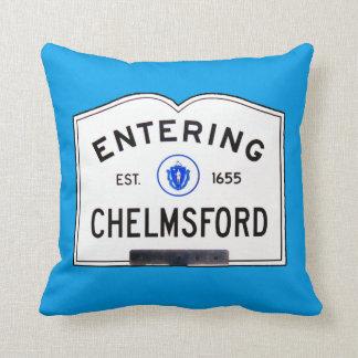 Chelmsford que entra cojín
