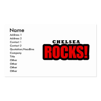 Chelsea Alabama City Design Double-Sided Standard Business Cards (Pack Of 100)