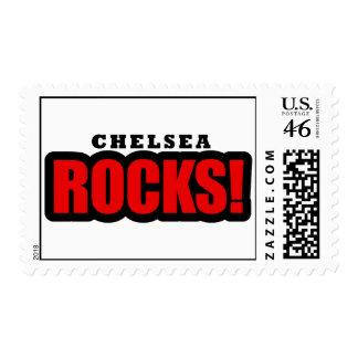 Chelsea Alabama City Design Postage Stamps