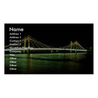 Chelsea Bridge, London, England Double-Sided Standard Business Cards (Pack Of 100)