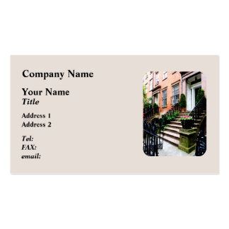 Chelsea Brownstone Business Cards