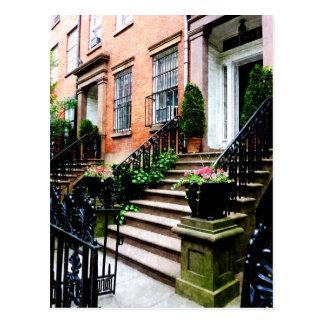 Chelsea Brownstones Postcard