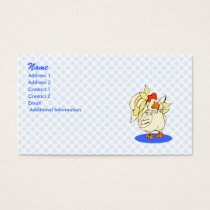 Chelsea Chicken Business Card