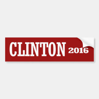 CHELSEA CLINTON 2016 CAR BUMPER STICKER