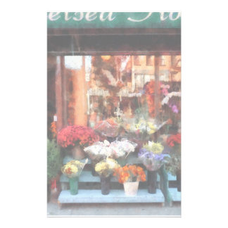Chelsea Flower Shop Customized Stationery