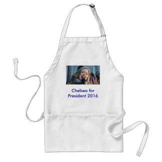 Chelsea for President 2016 Apron
