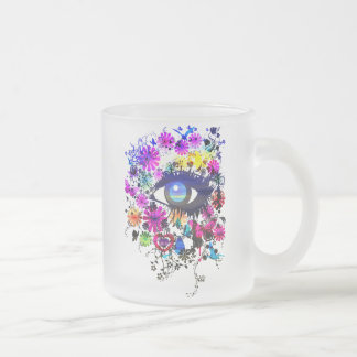 Chelsea Frosted Glass Coffee Mug