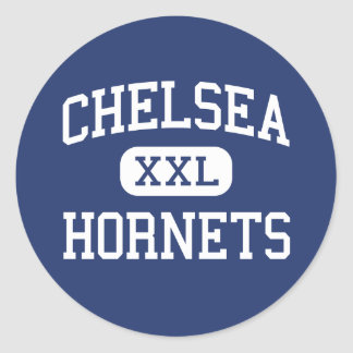 Chelsea Hornets Middle Chelsea Alabama Round Stickers