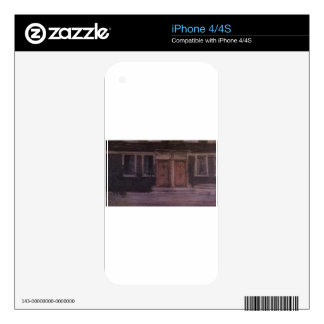 Chelsea Houses by James McNeill Whistler iPhone 4 Skins