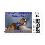 CHELSEA, Indiana K-9... Stamp