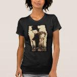 """Chelsea Moore2--- Las señoras cupieron """"Eliz medio Camisetas"""