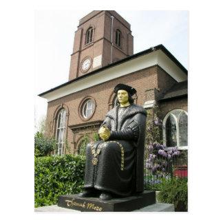 Chelsea Old Church, London SW3 Postcard