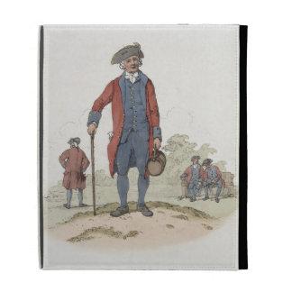 Chelsea Pensioner, from 'Costume of Great Britain' iPad Folio Cases