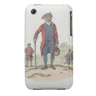 Chelsea Pensioner, from 'Costume of Great Britain' iPhone 3 Case