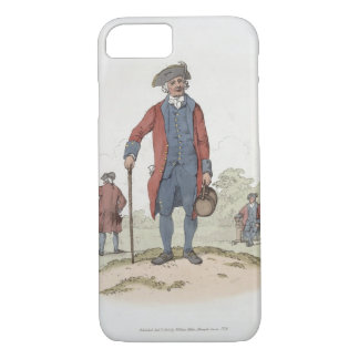 Chelsea Pensioner, from 'Costume of Great Britain' iPhone 8/7 Case