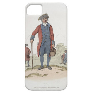 Chelsea Pensioner, from 'Costume of Great Britain' iPhone SE/5/5s Case
