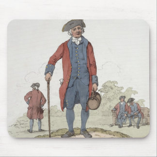 Chelsea Pensioner, from 'Costume of Great Britain' Mouse Pad