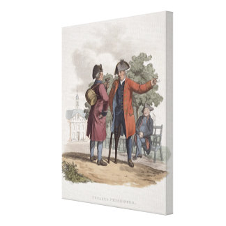 Chelsea Pensioners, Cavalry and Infantry, from 'Co Canvas Print
