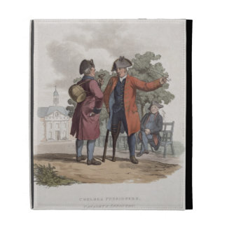 Chelsea Pensioners, Cavalry and Infantry, from 'Co iPad Folio Case