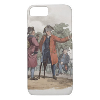 Chelsea Pensioners, Cavalry and Infantry, from 'Co iPhone 7 Case