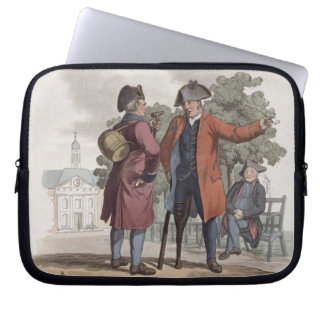 Chelsea Pensioners, Cavalry and Infantry, from 'Co Laptop Sleeve