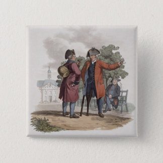 Chelsea Pensioners, Cavalry and Infantry, from 'Co Pinback Button