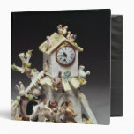 Chelsea porcelain farmyard clock case binder