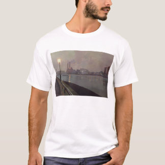 Chelsea Power Station by Night T-Shirt