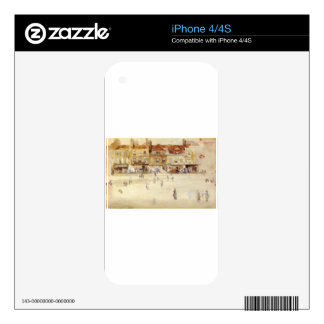 Chelsea Shops by James McNeill Whistler iPhone 4S Skins