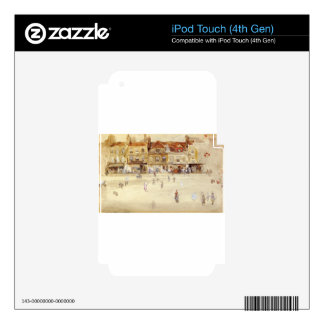 Chelsea Shops by James McNeill Whistler iPod Touch 4G Skin