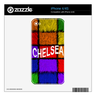 CHELSEA SKINS FOR THE iPhone 4