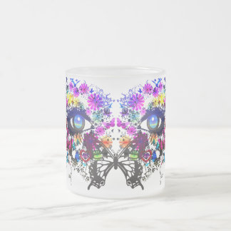 Chelsea(Symmetry) Frosted Glass Coffee Mug
