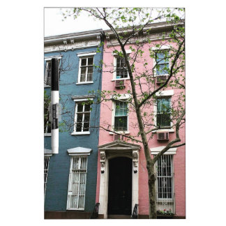 Chelsea Townhouses, NYC Dry Erase Board