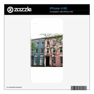 Chelsea Townhouses, NYC iPhone 4S Decal