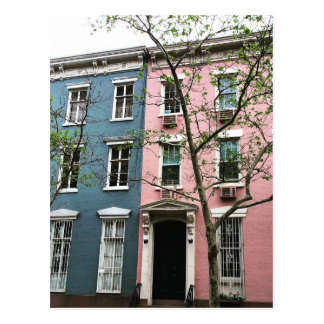 Chelsea Townhouses, NYC Postcard