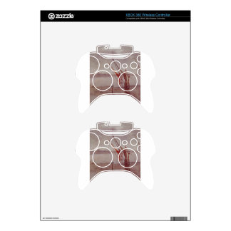 Chelsea Wharf Grey and Silver by James McNeill Xbox 360 Controller Skin