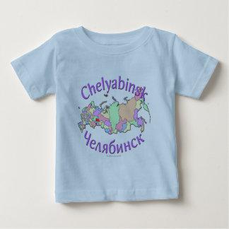 Chelyabinsk Russia Map Baby T-Shirt