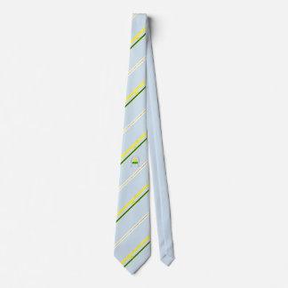 Chelyabinsk stripes flag neck tie