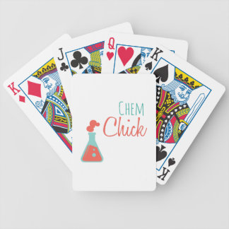 Chem Chick Bicycle Playing Cards