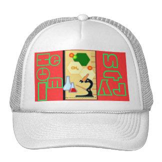Chem - Hat del Ciencia-Estudiante-Instructor Gorra