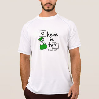 Chem is Try Erlenmeyer Logo T-shirt