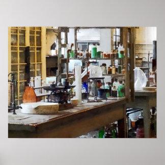 Chem Lab Print