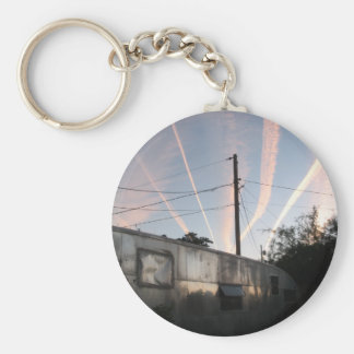 Chem Trailer Trash Key Chain