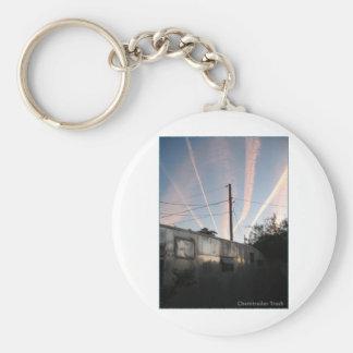 Chem Trailer Trash Keychain