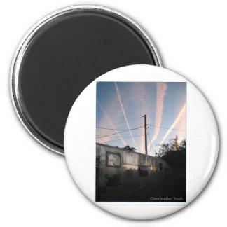 Chem Trailer Trash 2 Inch Round Magnet