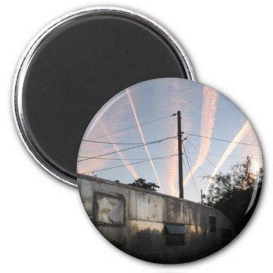 Chem Trailer Trash Magnet
