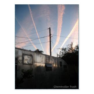 Chem Trailer Trash Postcard