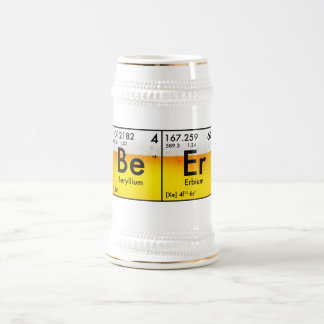 Chemical Beer Stein
